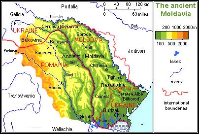 Moldova – date esentiale