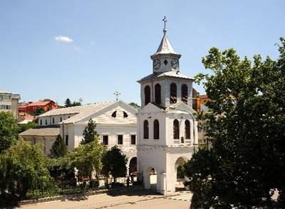 """""""Biserica cu ceas"""" din Tulcea"""