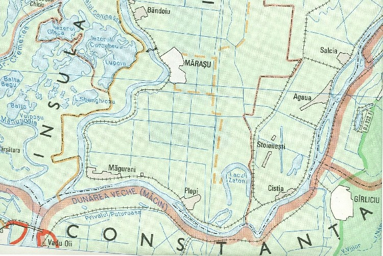 Proiectul turistic Lacul Zaton (in Insula Mare a Brailei)