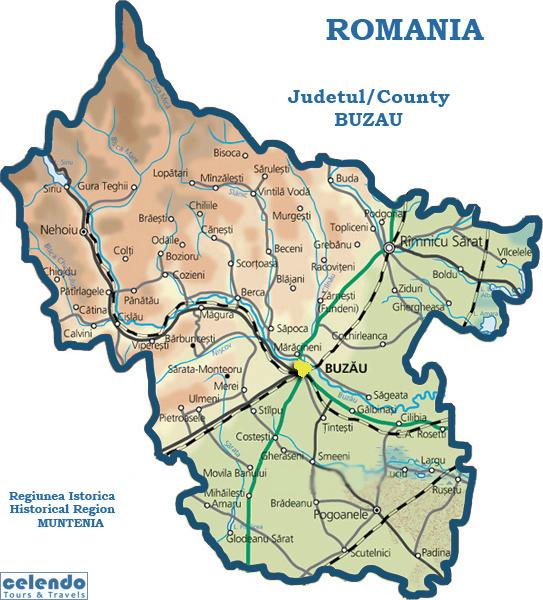 Judetul Buzau – date generale